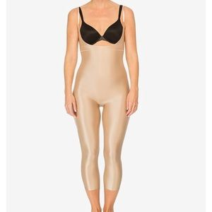 Spanx Catsuit Beige size small. New